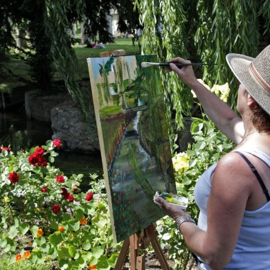 Sports and leisure activities in Giverny