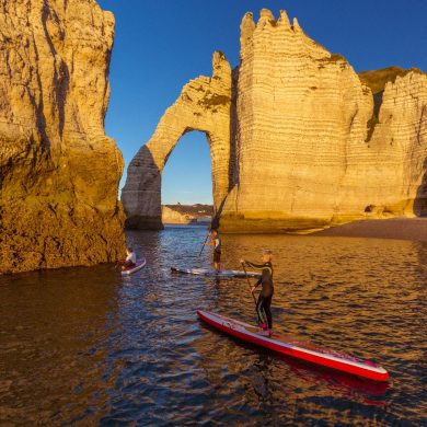 Sports and leisure activities in Étretat
