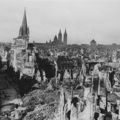 The liberation of Caen