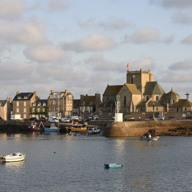 Barfleur and its picturesque harbour