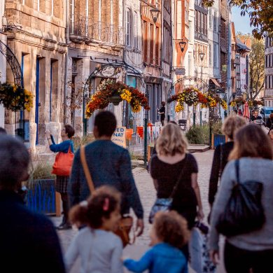 Three cities for top shopping in Normandy