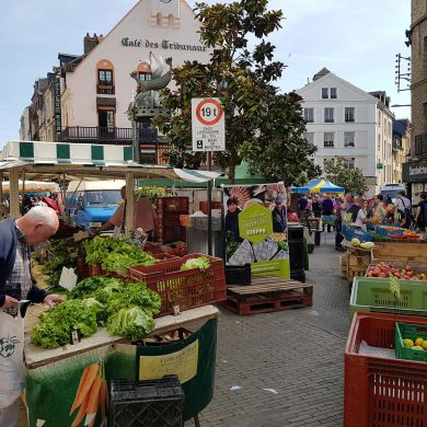 Dieppe market, France's finest
