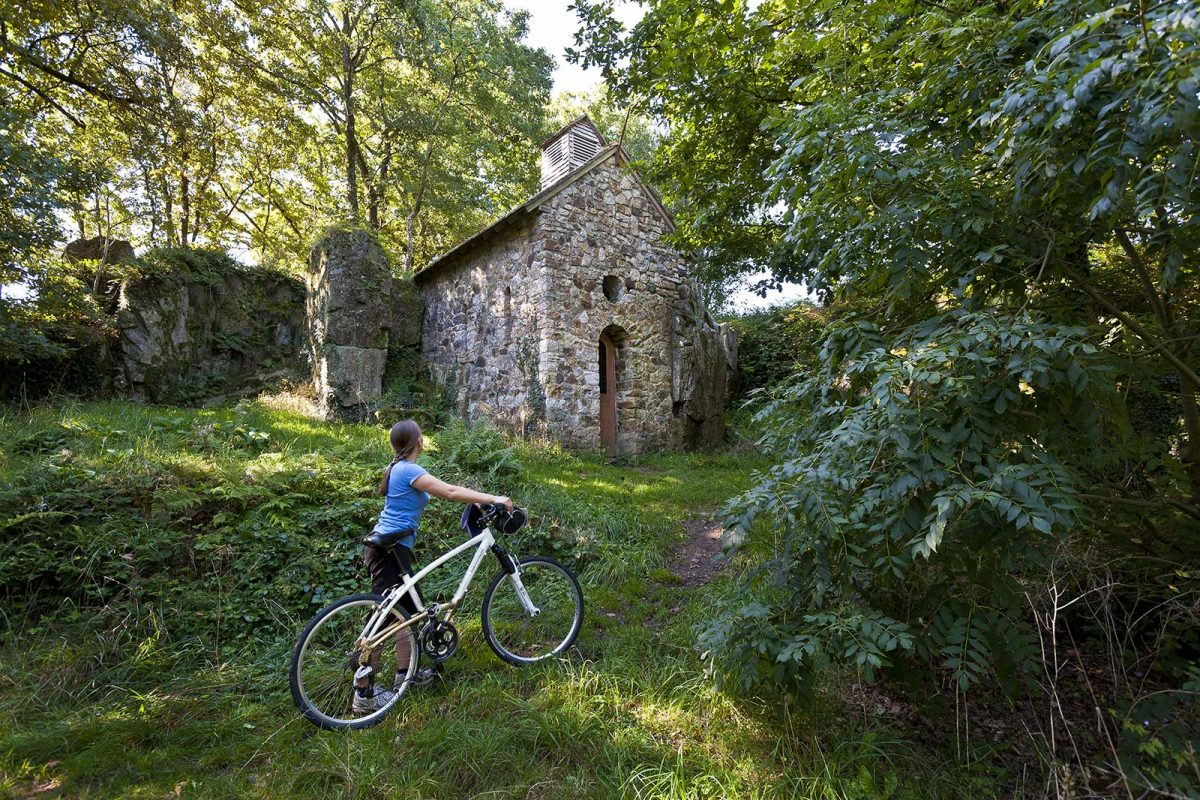 Cycling in Mortain
