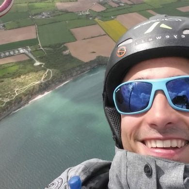 Meet Honorin Hamard, France's paragliding champion