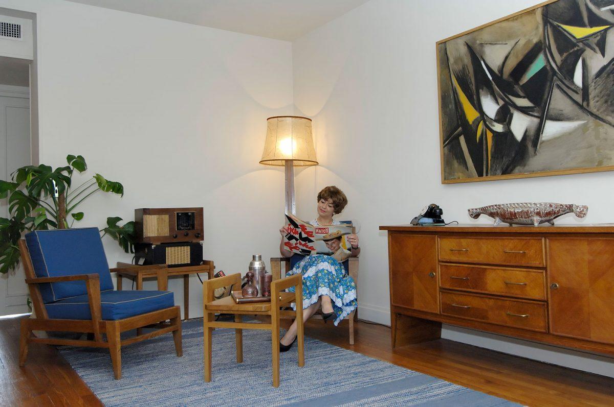 Le Havre - Appartement témoin Auguste Perret des années 1950