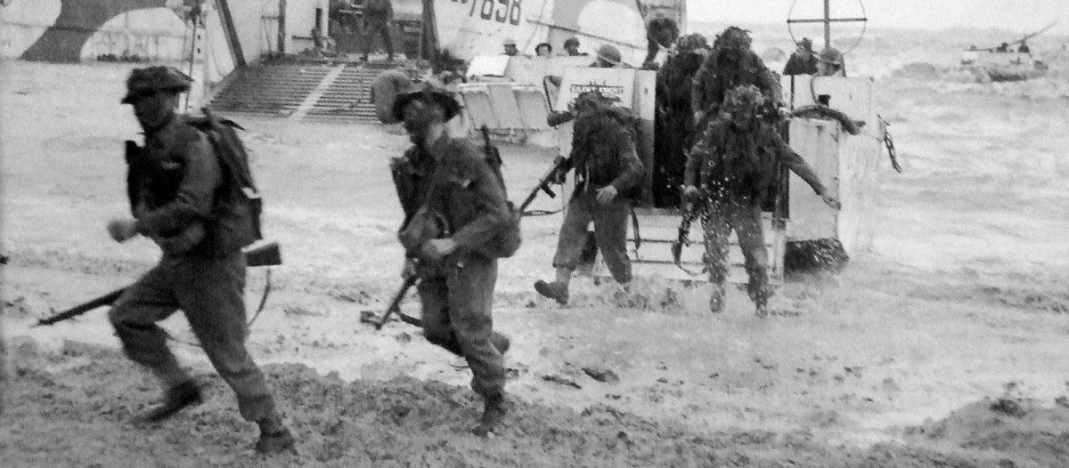 Débarquement dans le secteur de Gold Beach - Archives D-Day