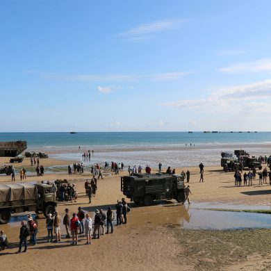 77th anniversary of D-Day and the Battle of Normandy