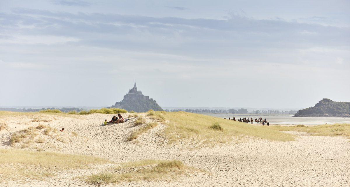 balade à cheval en Baie du Mont-Saint-Michel