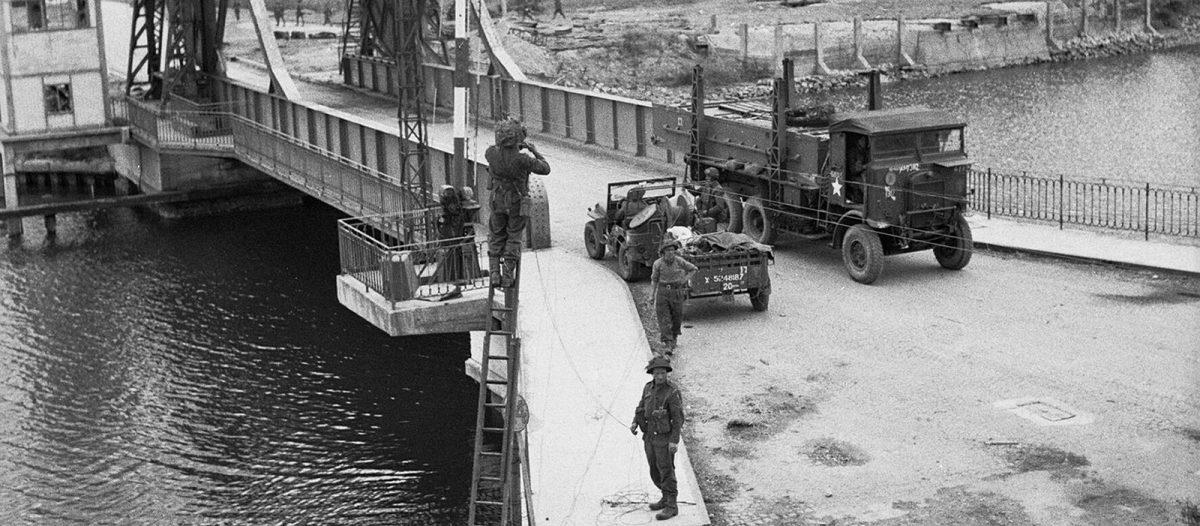 Débarquement à Bénouville - Sword Beach - Archives D-Day