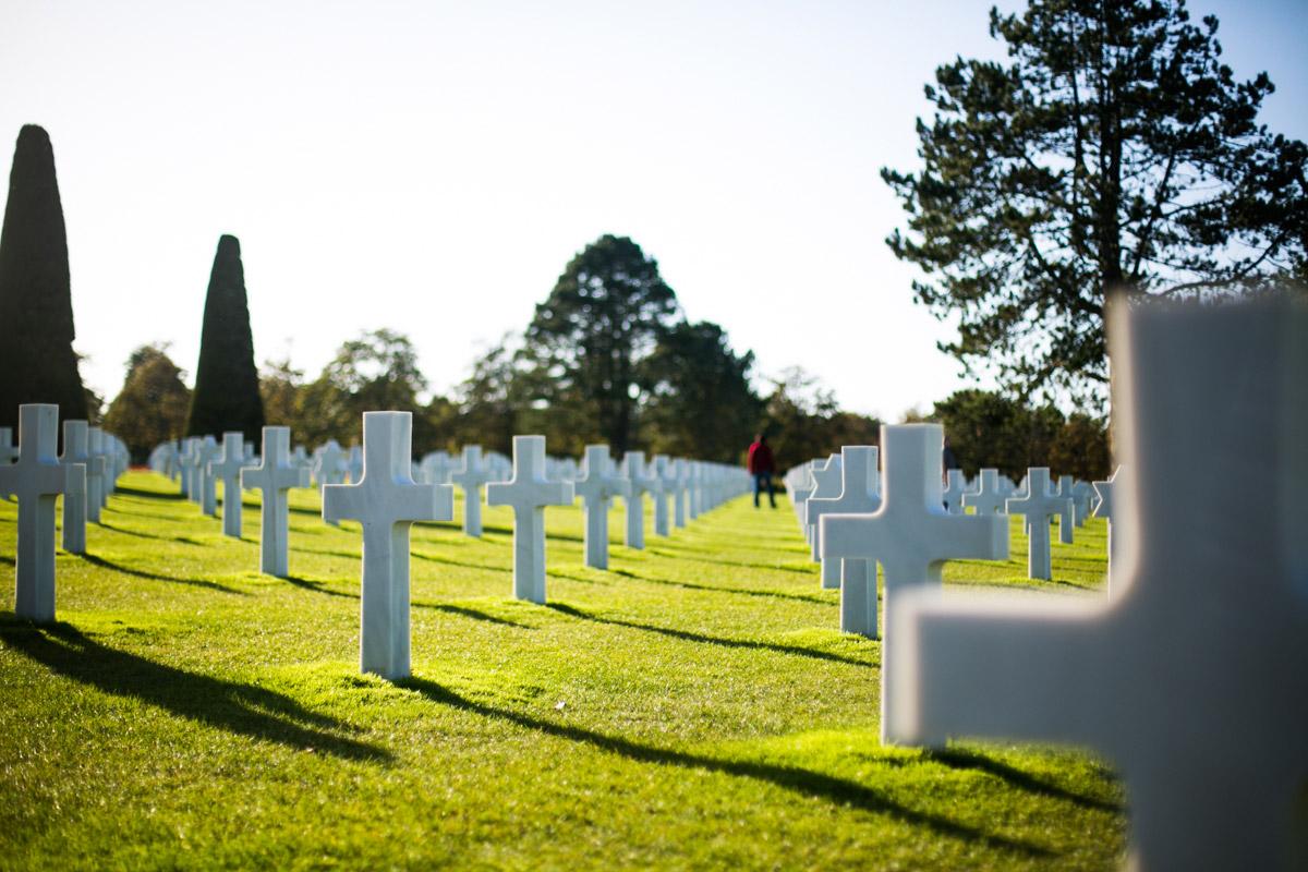Cimetière américain de Colleville-sur-Mer, Omaha Beach - D-Day