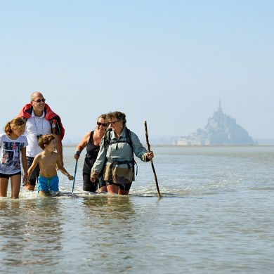 Back to nature in the Bay of the Mont-Saint-Michel