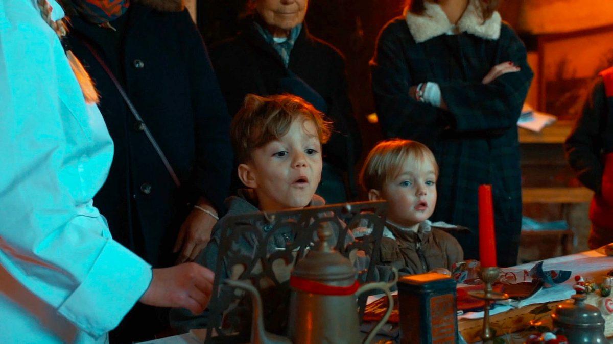 Enfants - Noël au château de Canon - Expérience