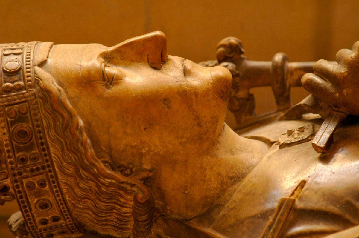 Gisant de Richard Coeur de Lion à la cathédrale de Rouen