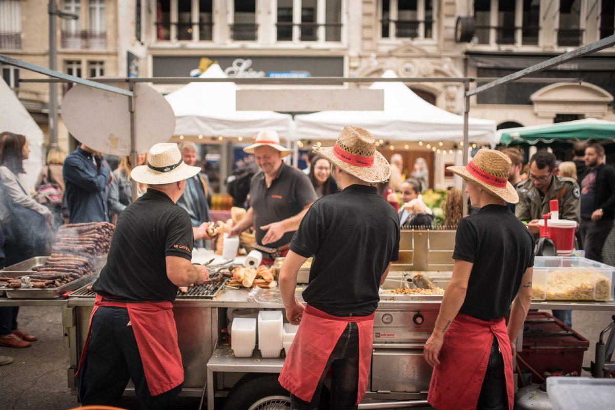 Food festival in Rouen