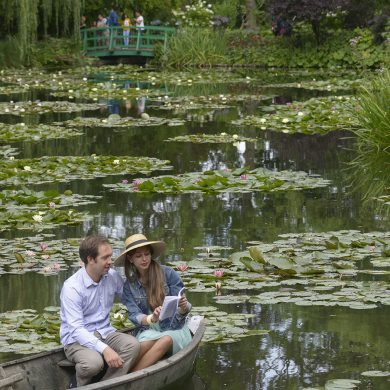 Giverny in all seasons