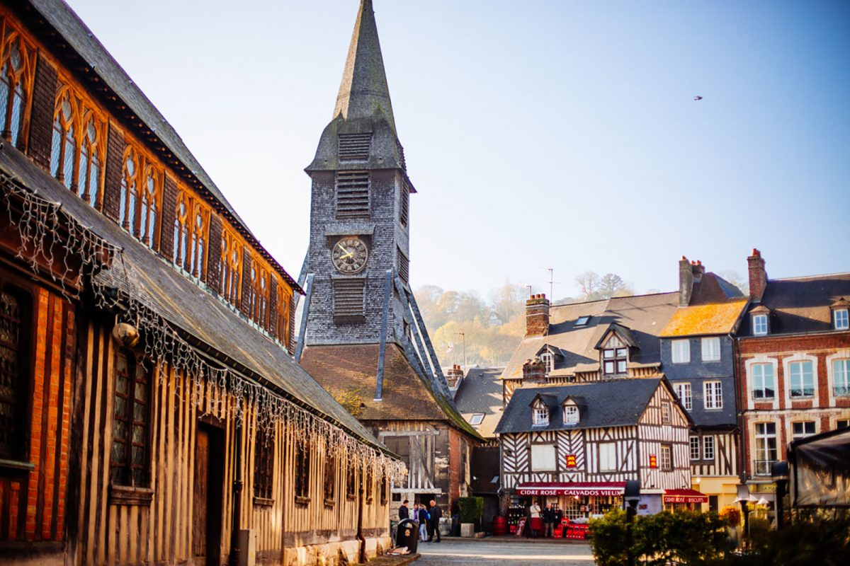 Eglise Sainte-Catherine à Honfleur
