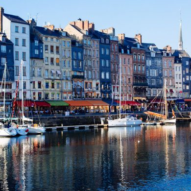 A beautiful day out in Honfleur