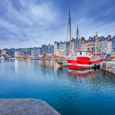 Honfleur in all seasons