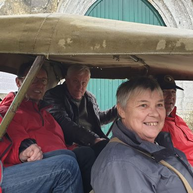 Following in the footsteps of the 101st Airborne Division: a Jeep ride on Utah Beach