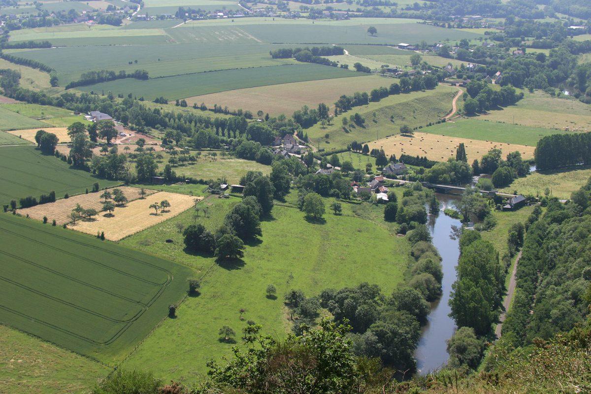 Paysage de la Suisse Normande