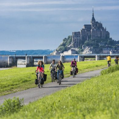 Top cycle routes in Normandy