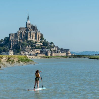 The Mont-Saint-Michel in all seasons