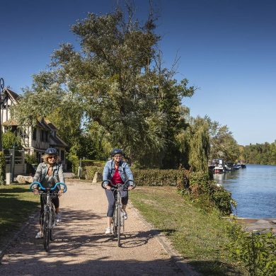 The Seine Valley cycle route