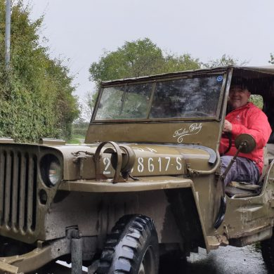 A Jeep ride in the footsteps of the 101st Airborne Division