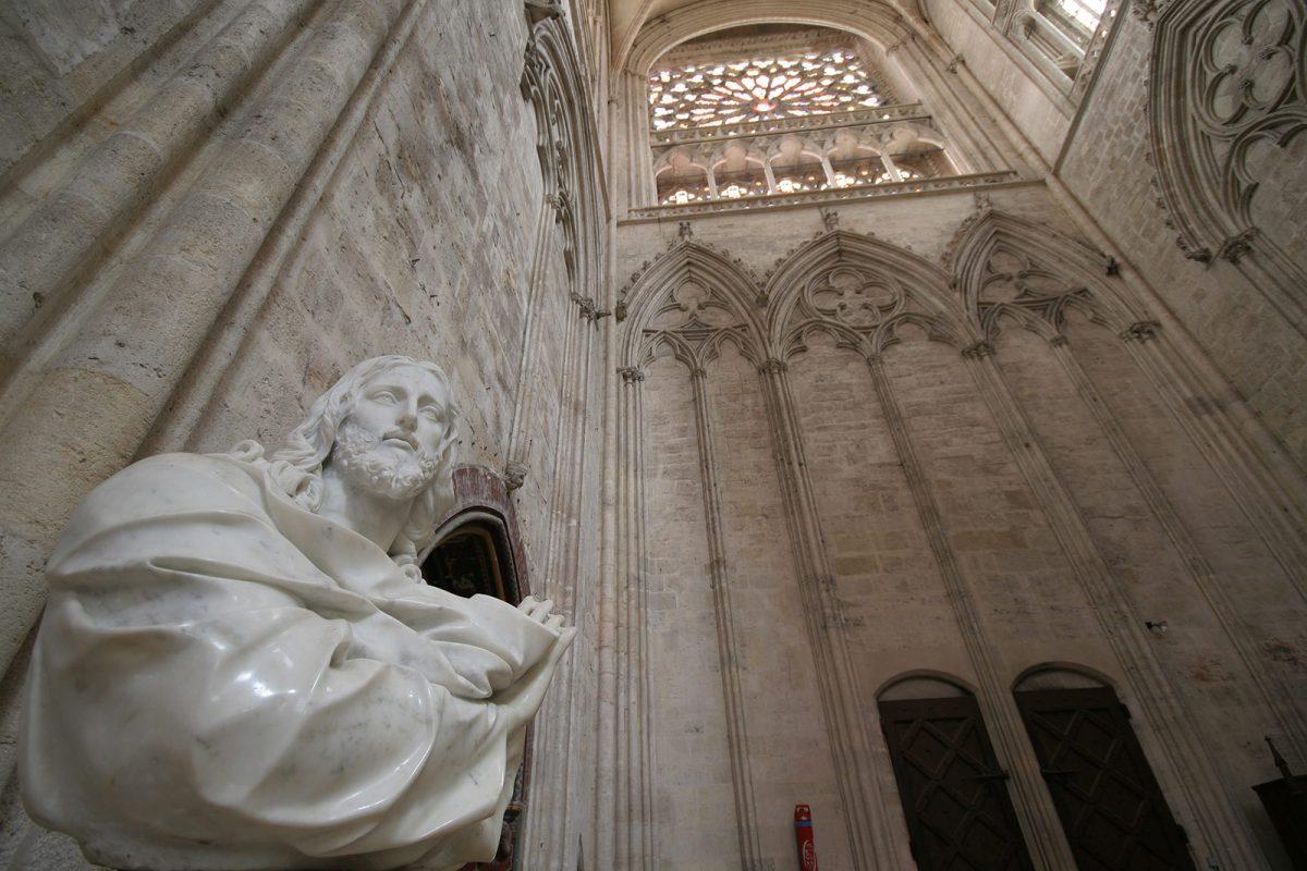 Intérieur de l'église Notre-Dame de Sées