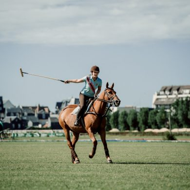 Polo for beginners in Deauville