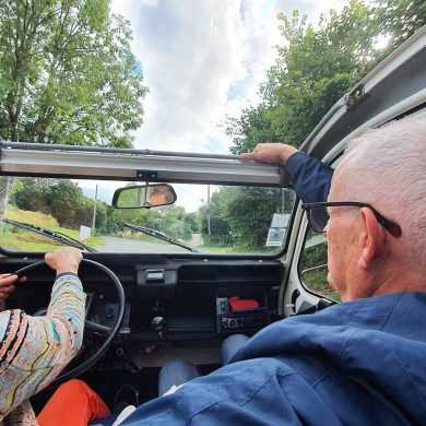 Touring the Pays d'Auge in a 2CV
