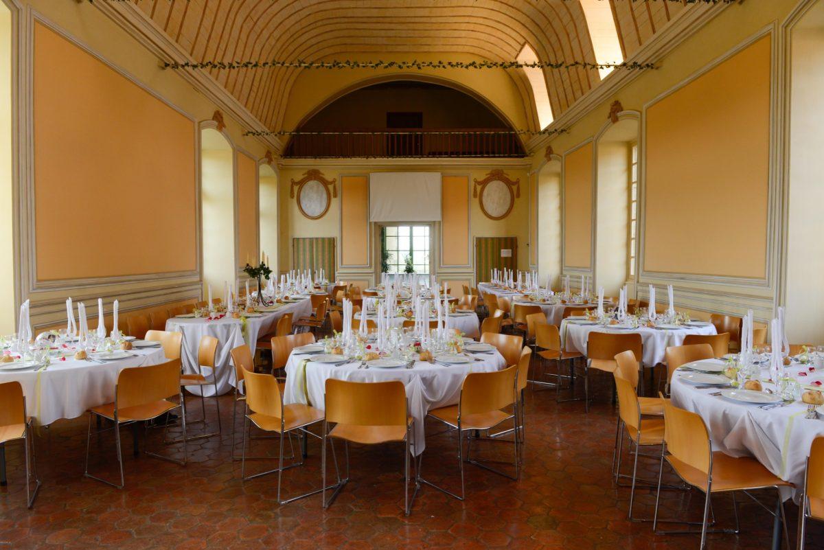 Salle des Fêtes at the Château de Carrouges