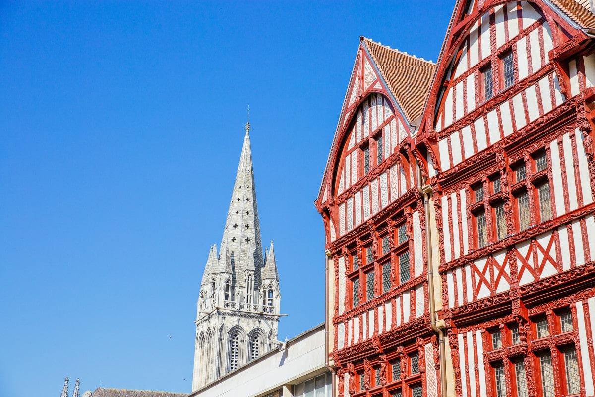 Maison à pans de bois à Caen