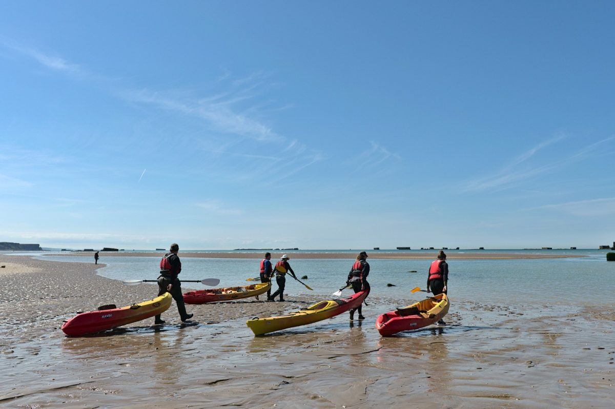 Kayaking in Arromanches - Asnelles