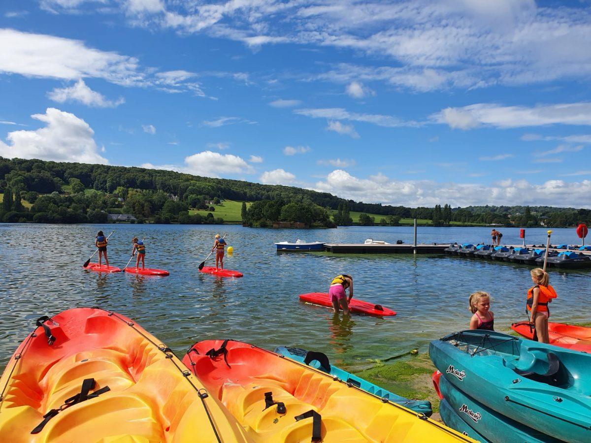 Paddle, Pont-lévêque lake
