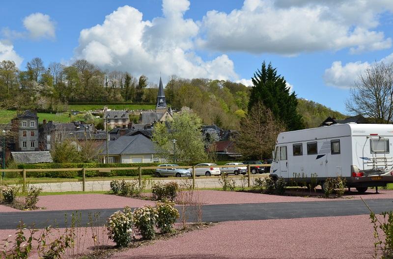 Aire De Camping Car De Cormeilles Cormeilles Normandy Tourism France
