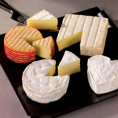 The Normandy cheese route