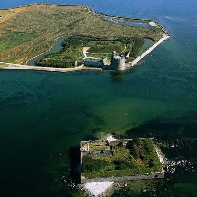 Tatihou Island and Vauban Fort