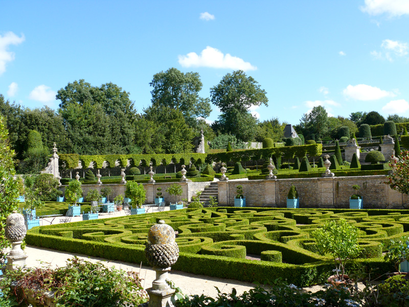 Brécy gardens
