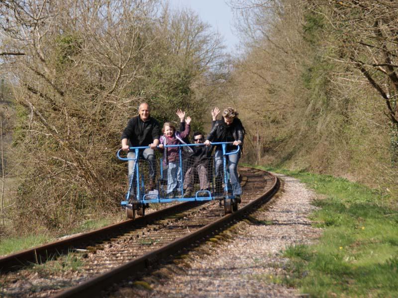 Vélo Rail de la Suisse Normande